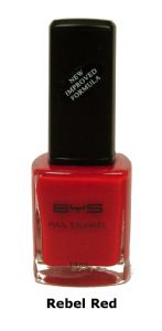 <b>BYS Nail Polish - Rebel Red No. 29</b>